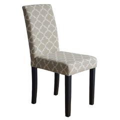 Maleva-l *Unpacked* Καρέκλα Ύφασμα Deco Μπεζ / Wenge