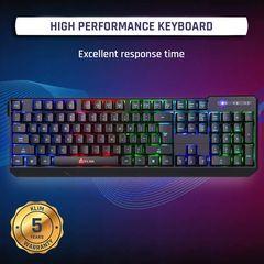 KLIM Chroma Rechargeable Wireless Gaming Keyboard + Slim
