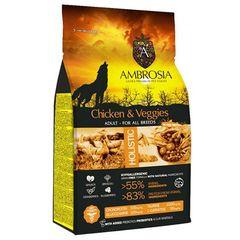 Ambrosia Grain Free Adult Chicken + Vegies 12kg