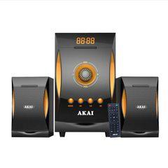 Akai SS032A-3515 Ηχοσύστημα 2.1 με Bluetooth, USB, SD, Aux-In και ραδιόφωνο – 38 W