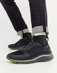 PS Paul Smith Black Zookie Sock Sneakers Limited Edition EU43