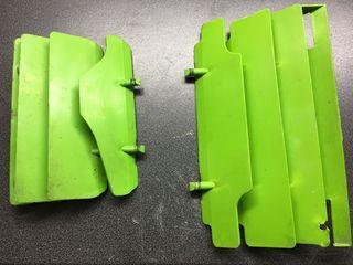 Γρίλιες ψυγείων Kawasaki KDX 200 πράσινες