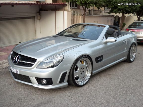 Mercedes-Benz SL 500 '02  FULL LOOK,63 AMG 2010