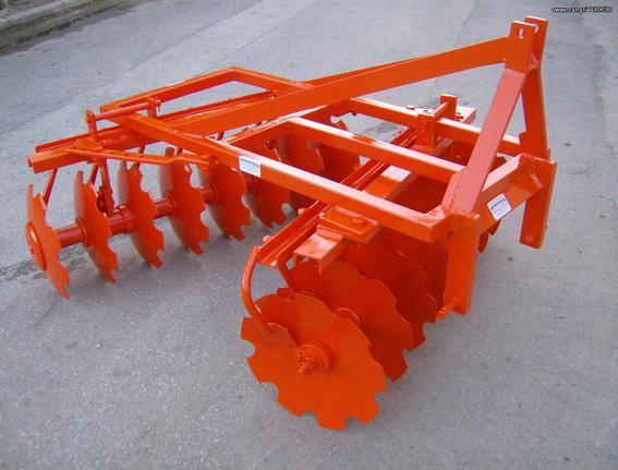 Γεωργικό σβάρνα - δισκοσβάρνα '18 AGRO MACHINES TASOS