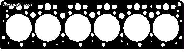 ΦΛΑΝΤΖΑ ΣΕΤ MERCEDES-BENZ MB-Trac, UNIMOG, OM 353  5.7