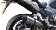 ΕΞΑΤΜΙΣΗ TΕΛΙΚΟ GPR GPE POPPY INOX/CARBON END HONDA CROSSTOURER 1200 GTC IE 2012-2013-thumb-1