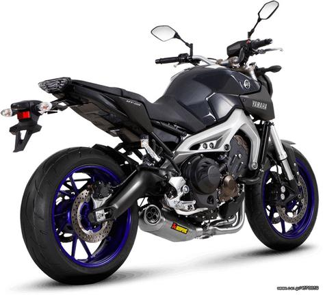 Εξάτμιση Ολόσωμη Akrapovic Racing(Inox Pipes) Yamaha MT-09/FZ-09 Tracer