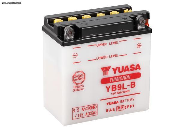 ΜΠΑΤΑΡΙΑ ΜΟΤΟ YUASA YB9L-B 9.5 AH....Sound☆Street....