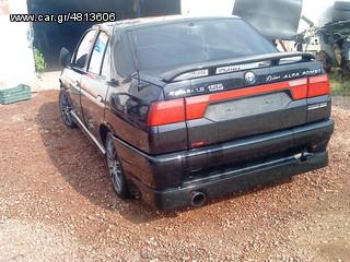 Ανταλλακτικα Alfa Romeo Alfa 155 '93-'97 πορτμπαγκαζ φαναρια πισω προφυλακτηρας πισω αξονας πισω πορτες