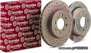 Εμπρός δίσκοι BREMBO RACING για BMW 320i/323i