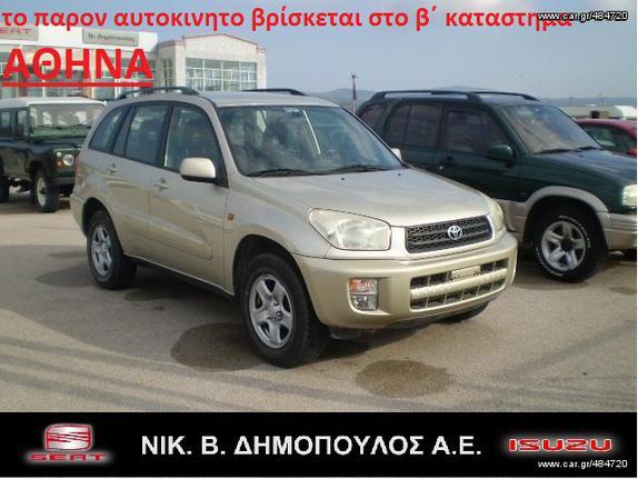 Toyota RAV 4 '03 2.0 LINEA LUNA