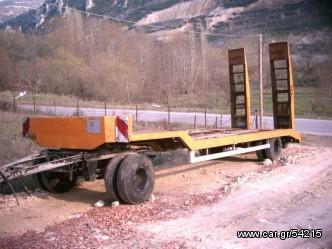 Ρυμούλκες/Τρέιλερ μεταφοράς μηχανημάτων '90 WALTROP