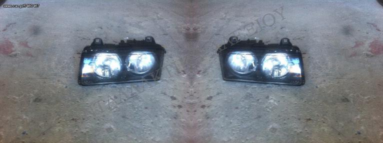 BMW E36 1994-1998 ΚΑΙΝΟΥΡΙΑ ΦΑΝΑΡΙΑ ΕΜΠΡΟΣ ΤΥΠΟΥ HELLA <<ΑΝΤΑΛΛΑΚΤΙΚΑ-ΑΛΕΞΙΟΥ>>