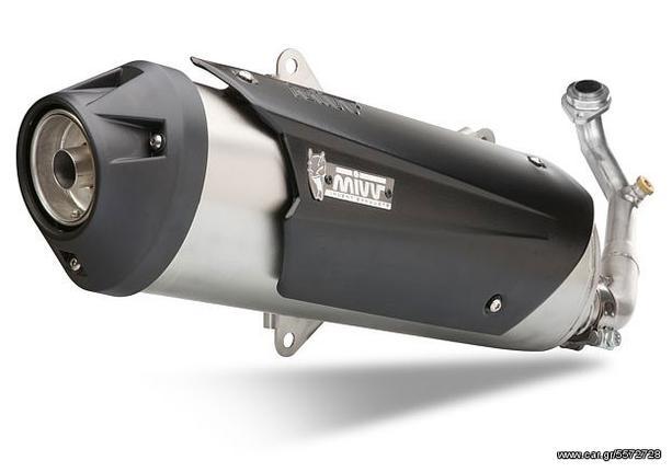 Εξάτμιση Ολόσωμη Mivv Urban Sport Honda PS 125/150 2006-, SH 125/150 2002-2012 Χωρίς Καταλύτη