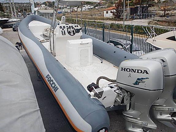 Σκάφος φουσκωτά '08 FOCCHI 10