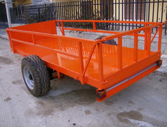 Γεωργικό πλατφόρμες-καρότσες '18 AGRO MACHINES TASOS