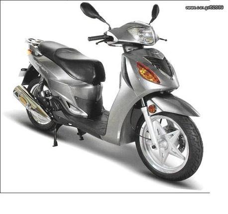Μοτοσυκλέτα roller/scooter '14 Metropolis 200