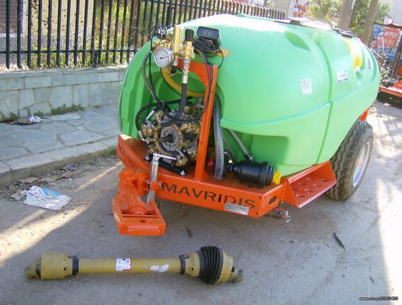 Γεωργικό τουρμπίνες - νεφελοψεκαστήρες '20 AGRO MACHINES TASOS