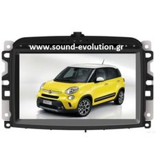 Fiat 500L Bizzar W539 S200 Android 8 / 8 core / ROM 32GB www.sound-evolution.gr