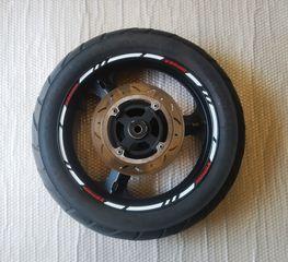ΠΙΣΩ ΖΑΝΤΑ V-STROM 650