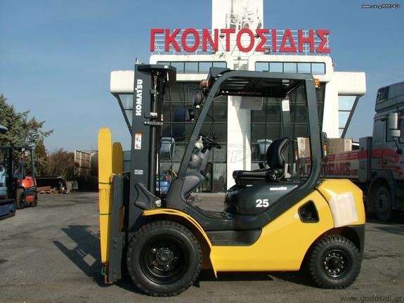 """Komatsu '17 """"NEW"""" FD25T-17 TFV4700 6W"""