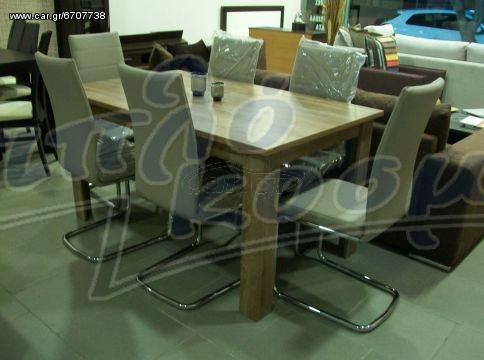 Τραπεζαρία Venus με 6 καρεκλες