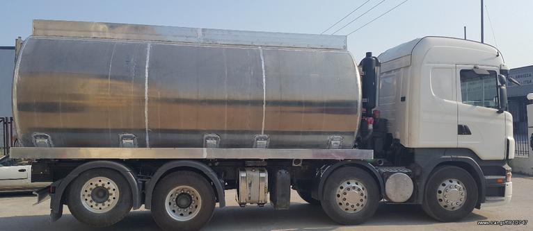 Φορτηγό Άνω Των 7.5τ βυτίο λυμάτων '21 ΘΕΟΔΩΡΙΔΗΣ ΑΛΟΥΜΙΝΙΟΥ
