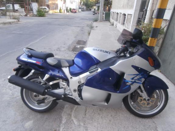 Suzuki '02 HAYABUSA GSX1300R