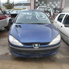 Πωλούνται Ανταλλακτικά Από Peugeot 206 2000' 1124cc
