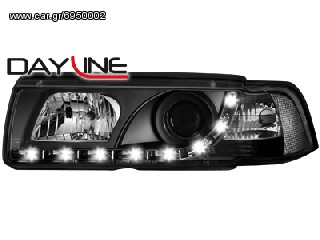 Φανάρια DECTANE Dayline BMW 3ER E36 Lim./touring 92-99 (Μαύρο) eautoshop.gr