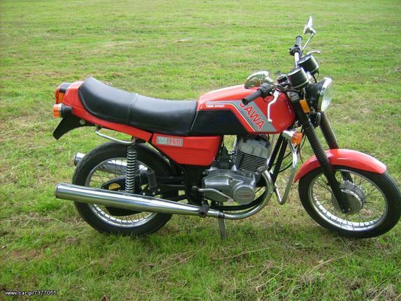 Jawa '80 350 type 634-638-640 K.A.