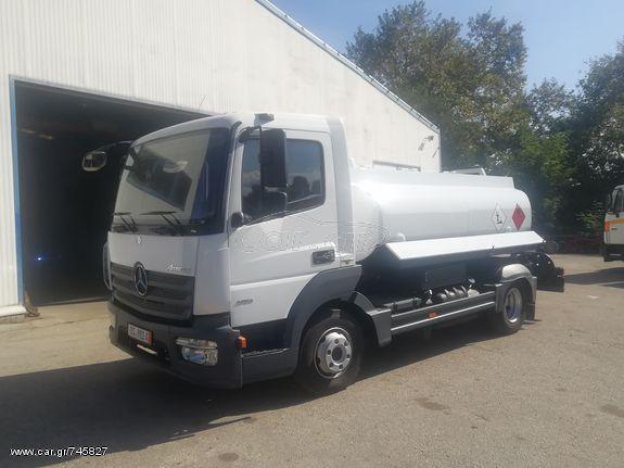 Φορτηγό άνω των 7.5τ βυτίο-καυσίμων '18 Βυτίο αλουμίνιου 6020 λίτρων