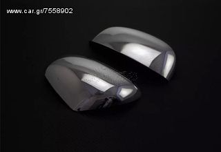 SMART FORTWO 453 CHROME - CARBON DOOR MIRRORS COVERS