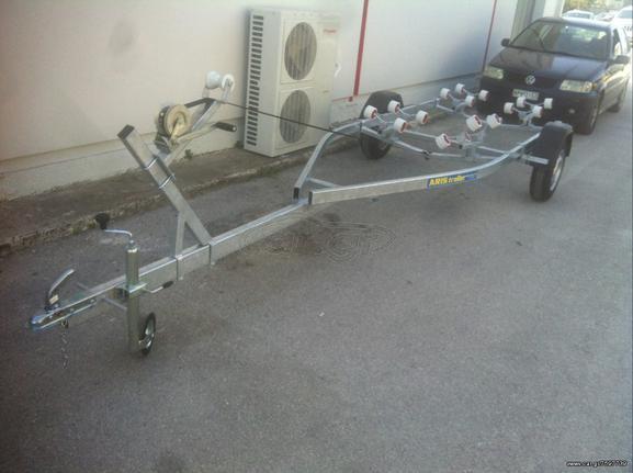 Ρυμούλκες/Τρέιλερ τρέιλερ σκαφών '21 ARIS TRAILER 5.20Μετρα