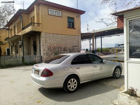 Mercedes-Benz E 220 '08 πωλείται με άδεια μαζί