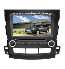 Mitsubishi Outlander LM W056 S200 Android 8 / 8 core / ROM 32GB www.sound-evolution.gr