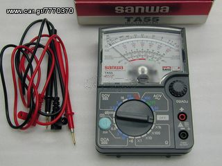 ΠΟΛΥΜΕΤΡΟ AUTO-MOTO  ΓΝΗΣΙΟ SANWA TA-55 (MADE IN JAPAN).(HONDA SPEC).