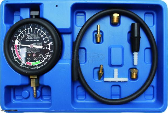Διαγνωστικό μέτρησης υποπίεσης αντλίας καυσίμων. QUATROS TOOLS