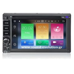 LM X802 GPS 2DIN Android 9 8core/4GB+32GB  www.sound-evolution.gr