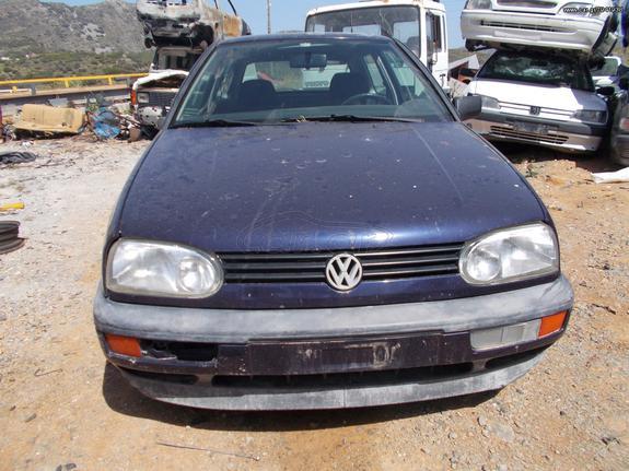 VOLKSWAGEN GOLF  GT  1997 1595cc