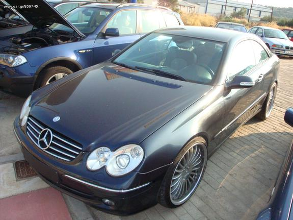 Mercedes-Benz CLK 500 '04 V8
