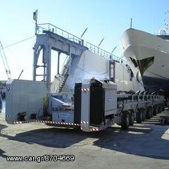 Για Μεγάλα Σκάφη Αυτοκινούμενα με μηχανή Τρέιλερ 250 τόνων A-HELLAS + ΔΩΡΟ ΓΑΝΤΙΑ ΕΡΓΑΣΙΑΣ NITRO(ΕΩΣ 6 ΑΤΟΚΕΣ Η 60 ΔΟΣΕΙΣ)