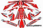 Flu Designs αυτοκόλλητα graphic kit Honda CRF 250 04-09-thumb-1