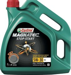 CASTROL MAGNATEC 5W30 A5 (FORD) STOP-START  FULL SYNTHETIC 32.00ΕΥΡΩ / 4L