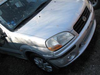 IGNIS 2002 κινητηρας, σασμαν, πορτες, τροπετο εμπρος-πισω, ζαντες αλουμινιου,air bag, σαλονι