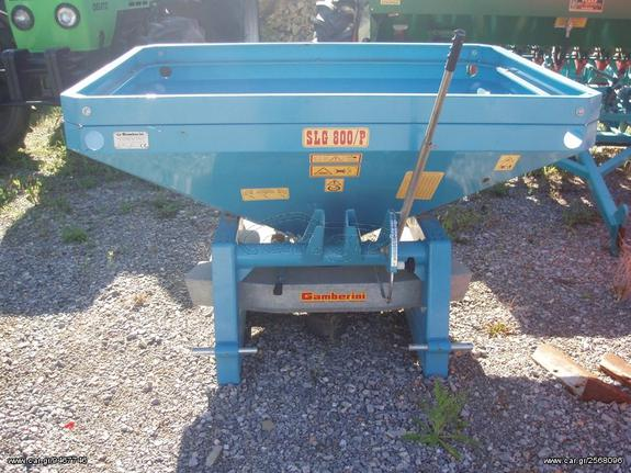 Γεωργικό λιπασματοδιανομέας '19 GAMBERINI SLG 800/P