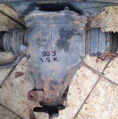 MERCEDES C180 W203  kompressor ΔΙΑΦΟΡΙΚΟ ΜΕ ΒΗΜΑ 3.7