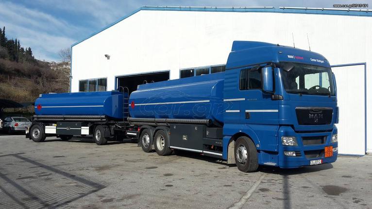 Φορτηγό Άνω Των 7.5τ βυτίο-καυσίμων '17 Βυτίο αλουμίνιου 21.000 λίτρων