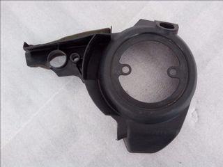 Αριστερο πλαστικο κάλυμα στροφαλοθάλαμου YAMAHA TMAX 500 2008-11 (4B5-15415)