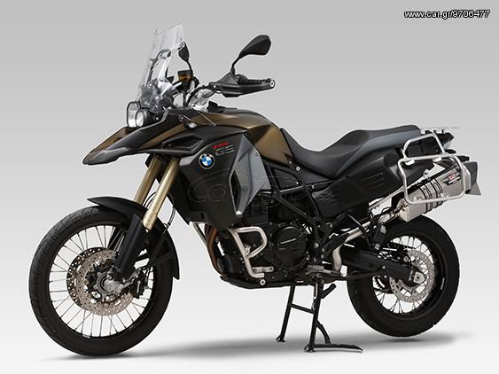 Εξάτμιση Τελικό Yoshimura Hepta Force Slip-on Titanium/Carbon End BMW F700GS/800GS '13 '16